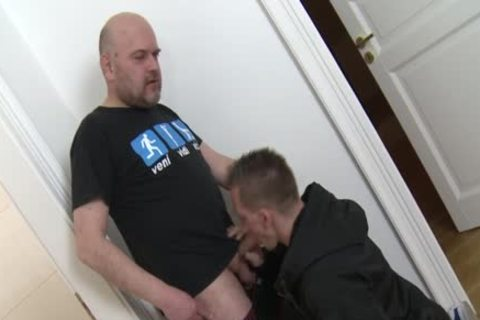 Straight twink Cocksucks daddy Trick For specie