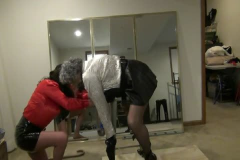 Bent-Over, bound, Gagged, And nailed By StephanieLorain
